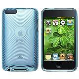 Housse étui Coque case GEL Silicone Pour Apple iPod Touch 2 3 2G 3G,Bleu Cercle