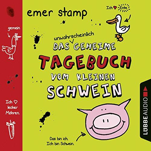 Couverture de Das unwahrscheinlich geheime Tagebuch vom kleinen Schwein 1