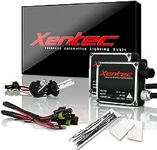 Xentec H7 5000K HID xenon bulb x 1 pair bundle with 2 x 35W Digital Ballast (Ivory White)