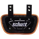 Schutt Sports Neon Football Back Plate, Neon Orange, Youth