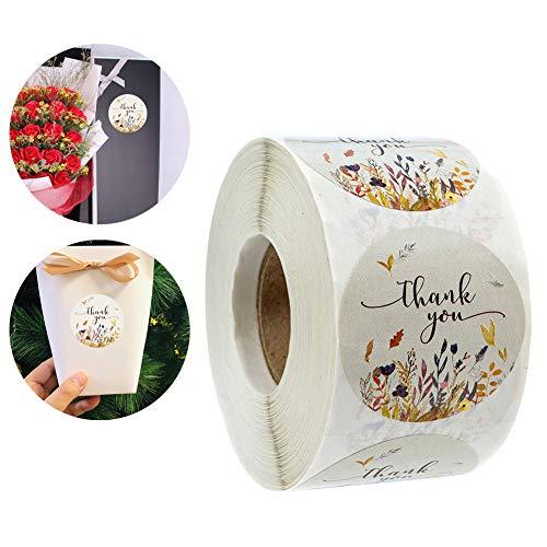 L-DiscountStore 500 unidades otoño floral gracias