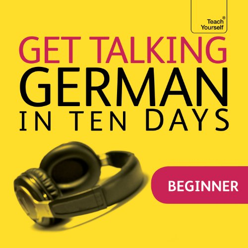 Couverture de Get Talking German in Ten Days