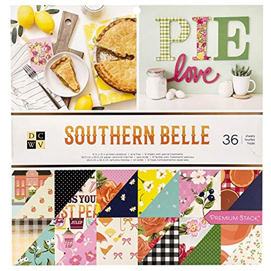 DCWV 615110 Southern Belle Paper Stack Multi