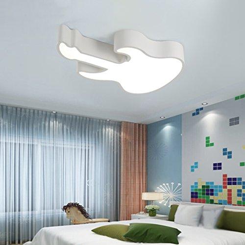 Lily's-uk Love Lumières pour enfants créatives Chambre de couleur Lampes de plafond Led individu garçons Girl Room lumières Simple Modern - Blanc