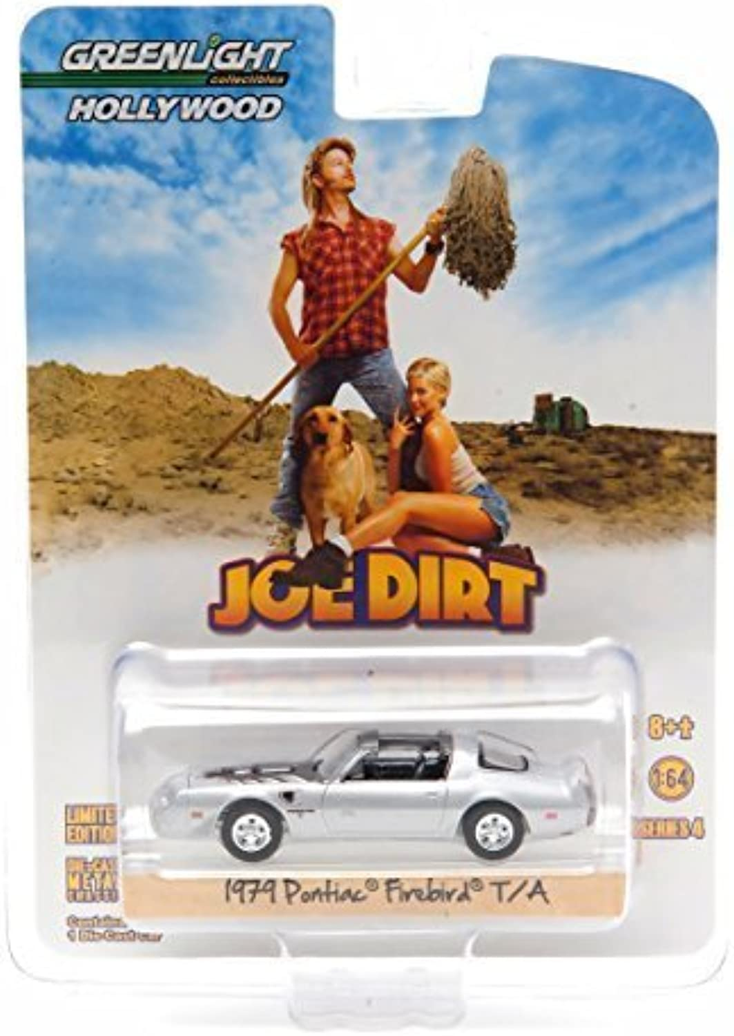 1979 PONTIAC FIREBIRD TRANS AM from the classic film JOE DIRT  Hollywood Greatest Hits  2015 Greenlight Collectibles 1 64 Scale Limited Edition DieCast Vehicle by GL Hollywood