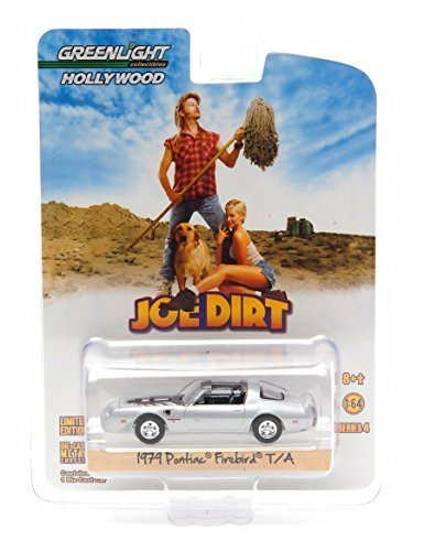 1979 PONTIAC FIREBIRD TRANS AM from the classic film JOE DIRT * Hollywood Greatest Hits * 2015 Greenlight Collectibles 1:64 Scale Limited Edition Die-Cast Vehicle by GL Hollywood