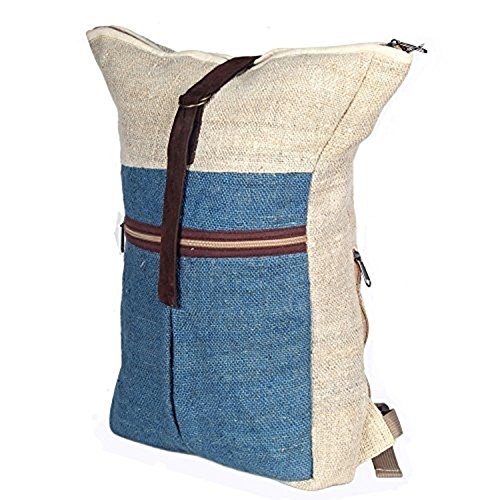 Rucksack aus Hanf, cultbagz Nepal Hand Made, Topofit