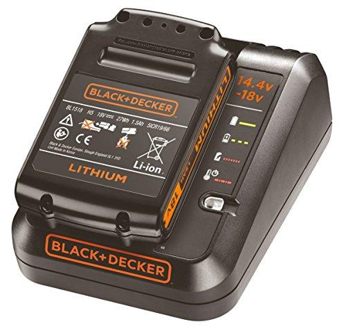 BLACK+DECKER BDC1A15-QW - Pack bateria de litio 18V de 1.5Ah y cargador de 1Ah