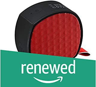 (Renewed) RAPOO | A200-R Bluetooth 4.1 Wireless Mini Portable Stereo Speaker for Music and Calls - RED
