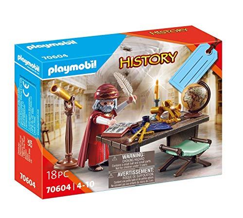PLAYMOBIL History Set de Regalo Astrónomo,...