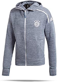 2018-19 FC Bayern Core 18 Rain Jacket-Grey L