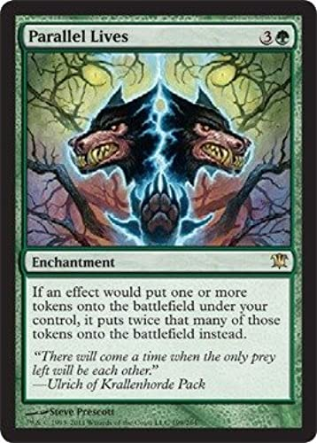 el más barato Magic  the Gathering - Parallel Lives - - - Innistrad - Foil by Magic  the Gathering  descuentos y mas