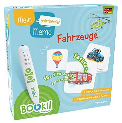 Tessloff Verlag Ragnar Tessloff GmbH & Co. KG BOOKii® Mein sprechendes Memo Fahrzeuge (BOOKii / Antippen, Spielen, Lernen)