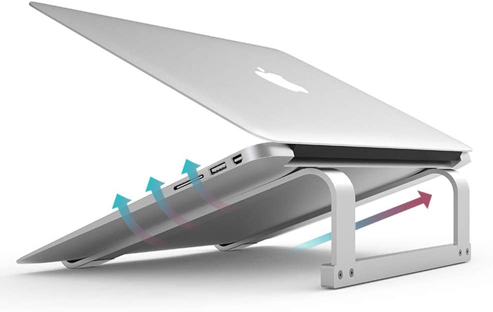 SKYZONAL Laptop Stand Aluminum Max 83% OFF Riser Beauty products Ventilated Ergonomic