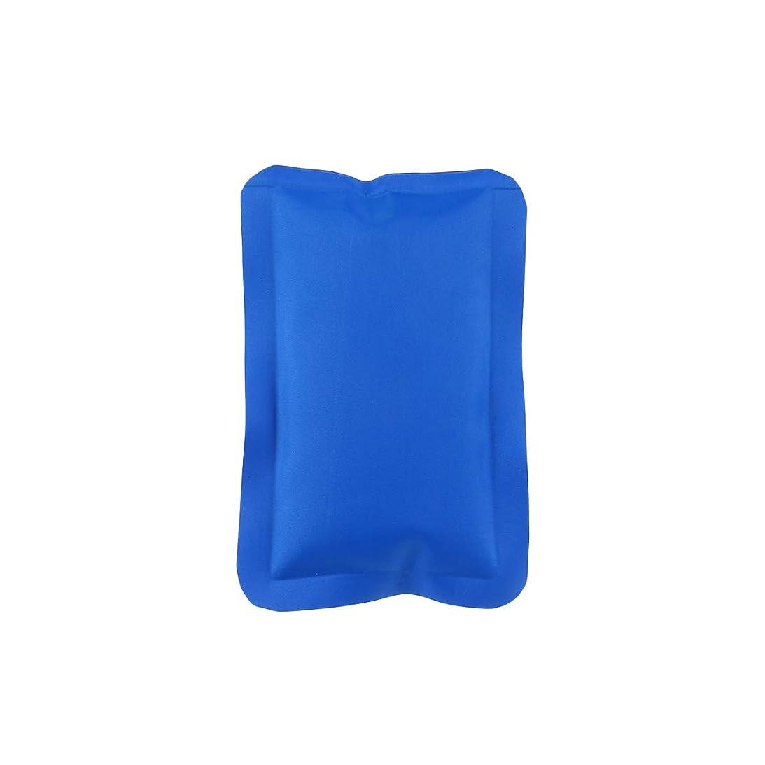 スプーン硬さ永久にHEALLILY 150ML再利用可能なホット&コールドジェルパック(コンプレッションラップスポーツ傷害)ジェルアイスパック多目的ヒートパック(マッスルリリーフ用、16x10x1cm、ブルー)