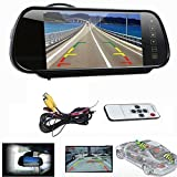 Samrah 7 Inch LCD FULL HD Bluetooth Monitor with Led Reverse Camera