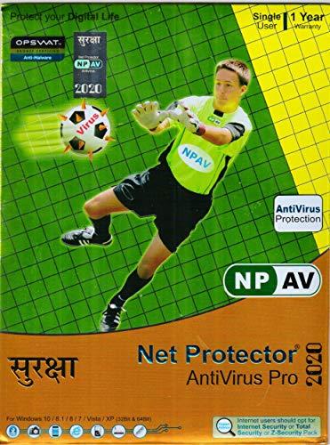 NPAV Net Protector Anti-Virus Pro 2020 - 1 PC, 1 Year (Email...