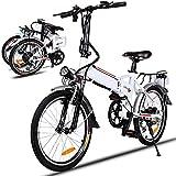 Bicicleta eléctrica de montaña, 250W, Batería 36V E-Bike Sistema de...