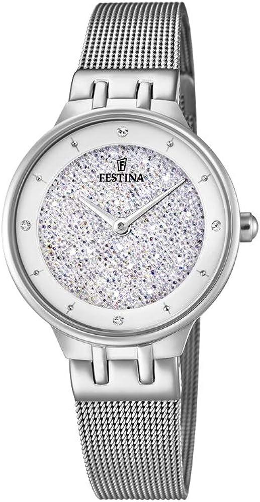 Festina orologio analogico da donna in acciaio inossidabile F20385/1