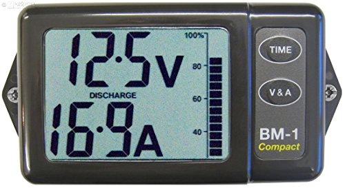Nasa - Batteriemonitor BM-1 COMPACT - grau