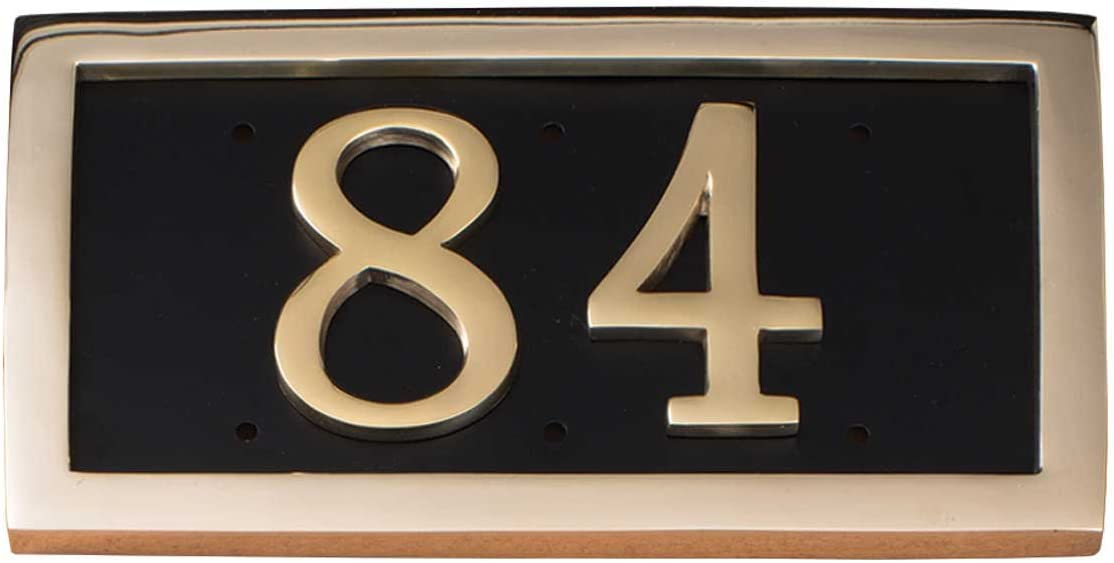 Comfort Sale SALE% OFF House Address Plaque free Personalized with Brass Numbe Solid
