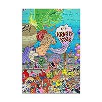スポンジ ボブ Spongebob Squarepants アニメ ジグソーパズル 98ピース キャラクター パズル 減圧 レジャー 萌えグッズ プレゼント グッズ 子供 大人 初心者向け 生日プレゼント