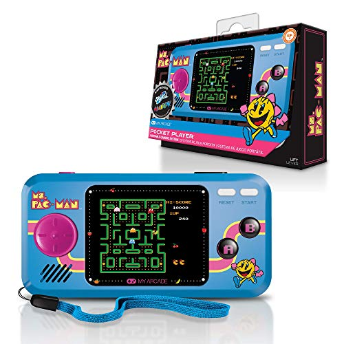 Tragbare Pocket-Player-Konsole - My Arcade - Frau PAC-MAN