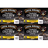 Java House Cold Brew Coffee Concentrate Single Serve Liquid Pods - 1.35 Fluid Ounces Each (Colombian, 48 Count)