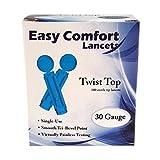 EASY COMFORT TWIST TOP LANCETS by Home Aide Diagnostics, Inc.