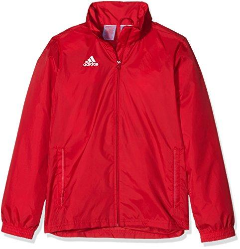 adidas Kinder Jacke/Anoraks Coref rai jkty Regenjacke, Power Red/White, 140