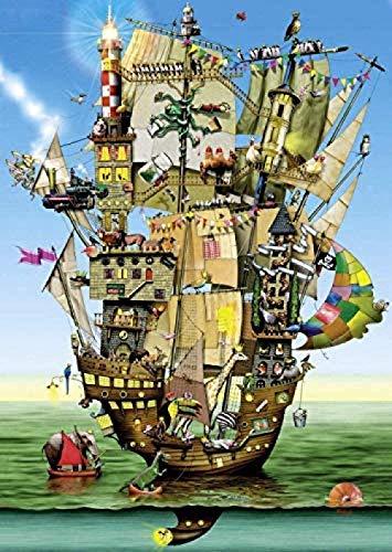 1000 houten puzzel cartoon Noah's Ark dier huisdecoratie volwassen decompressie en educatief speelgoed voor kinderen