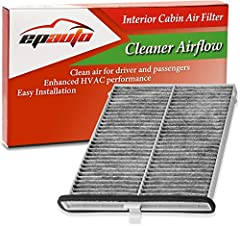 Clean air for driver and passengers Contains soda and carbon to generate fresh breeze air Enhanced HVAC performance, Recommended replacement every 12 months or 12,000 miles. Replacement for FRAM CF11811, Replacement for Mazda Genuine Part# KD45-61-J6...
