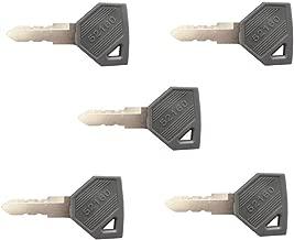 (5) 198360-52160 1A7880-52100 Ignition Key for Yanmar EX450 Cub Cadet John Deere JD Tractor Kukje Tractor