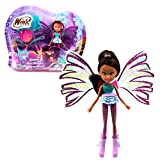 Winx Club Layla | Sirenix Mini Magic Muñeca Hada con Transformación | 12 cm
