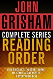 JOHN GRISHAM COMPLETE SERIES READING ORDER: Jake Brigance (A Time to Kill), Theodore Boone, all stand-alone novels, all short stories, and more! (English Edition)