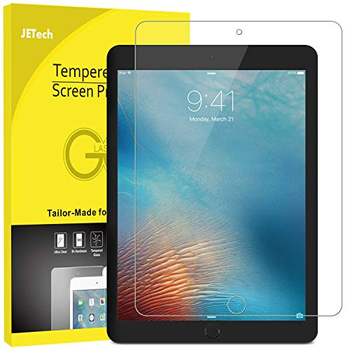 JETech Schutzfolie Kompatibel mit iPad mini 5 (2019) & iPad mini 4, Gehärtetem Glas Bildschirmschutzfolie