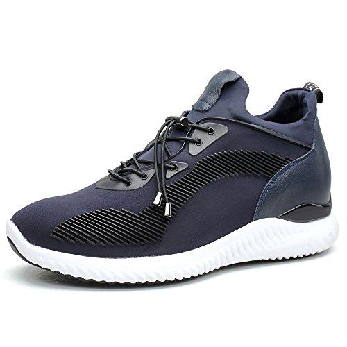 CHAMARIPA Zapatos Alzas Interiores Hombres - 7CM Que
