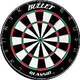 Bullet Hochwertiges Klassik Dartboard - Dartscheibe aus brasilianischem Sisal mit Stahlspinne - Ø45cm - 4CM Dicke