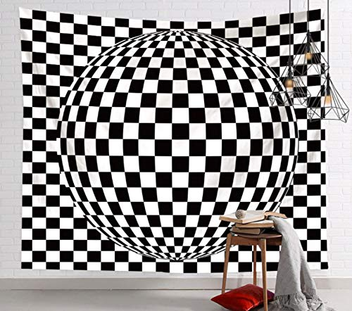 Tapiz Colgante De Pared Dormitorio Sala De Estar Decoración De Pared Tapices Estera De Yoga Toalla De Playa Manta Mantel 150X200Cm Bola Creativa 3D