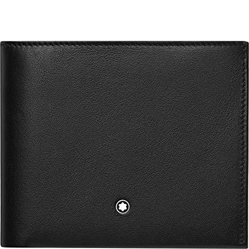 Material: Piel negro Tamaño: 11, 5x 9, 5cm Funciones: 6compartimentos para tarjetas de crédito, 4oculto Compartimentos para tarjetas de crédito, 2compartimentos para billetes, uno de ellos bajo sobre oculta, 2compartimentos extra