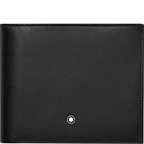 Montblanc 118274 My Nightflight - Cartera, Color Negro 11,5 x 9,5 cm