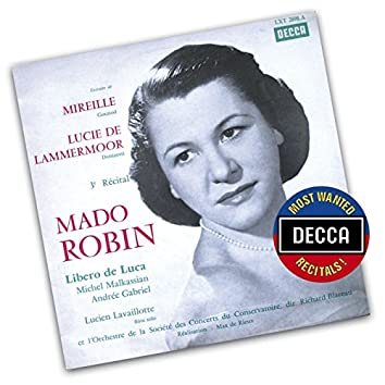 """Mado Robin-Extracts From """"Mireille"""" & """"Lucia Di Lammermoor"""""""