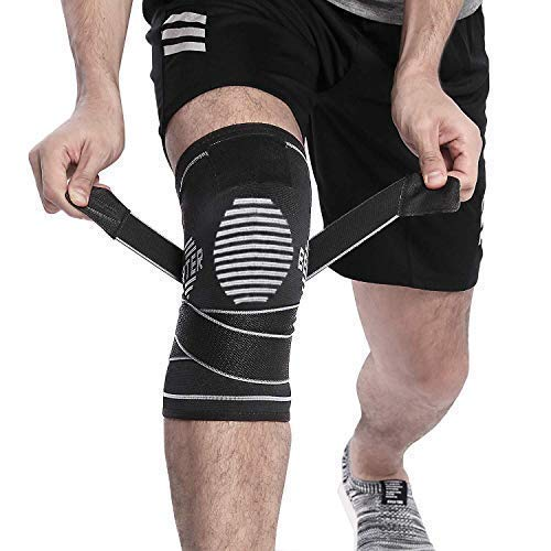 BERTER Knee Brace for Men Women - Compression Sleeve Non-Slip for Running, Hiking, Soccer,...
