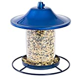 Perky-Pet 312B Blue Sparkle Panorama Bird Feeder