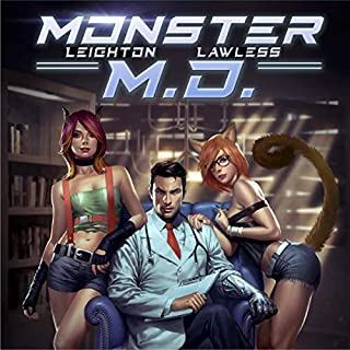 Monster M.D. audiobook cover art