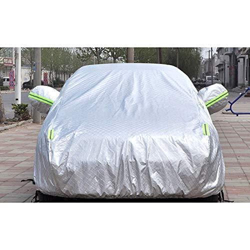 Auto waterdicht/wind/zon/stof gouden beker speciale isolatie katoen DuPont duurzame vier seizoenen auto cover