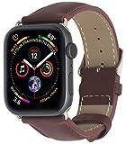 StilGut Armband kompatibel mit Apple Watch Lederarmband 42mm/44mm - Apple Watch Armband aus Leder...