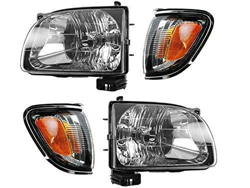 03 toyota tacoma headlights - 1