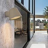 Aplique Led pared Antracita Gris Exterior,Lampara Foco Pequeña Moderna Lectura...