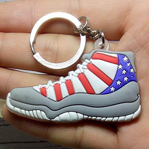 ZNXHNDSH HND Zapato Retro Llavero Hombres y Mujeres Regalo Llavero Zapatilla de Deporte Titular de la Clave Productos Calientes al por Menor (Color : M)